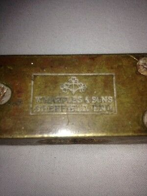 Vintage Spirit level W Marples and Sons Sheffield