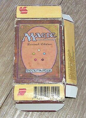 Original 1994 Magic The Gathering Card Game Revised Edition Starter Pack Box