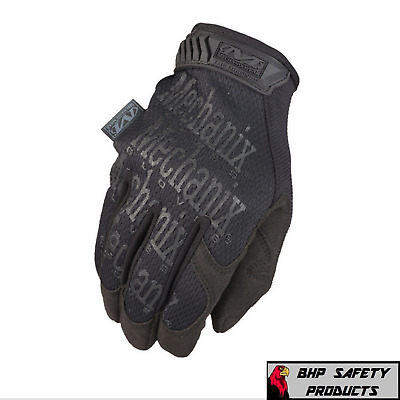 Mechanix Wear The Original Mechanics Gloves Covert Black Mg-55 Sizes S-Xl