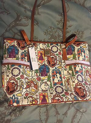 New Disney Belle Beauty And The Beast Dooney & And Bourke Shopper Tote  SOLD OUT
