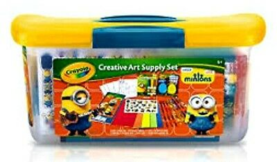 Minions Creative Art Supply Set by Crayola  Stickers Crayons Chalk Markers Paper