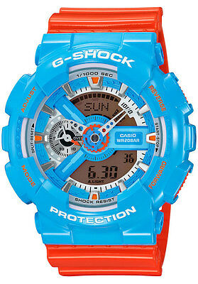 CASIO GA-110NC-2ACR G-Shock Men's Limited Colours Watch - Brand New