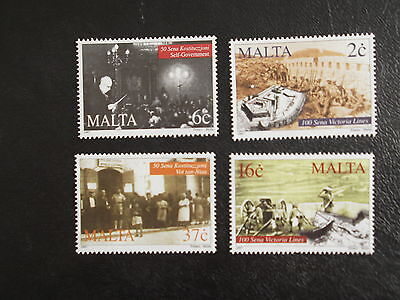 Malta Stamps 1997 - Various Commemorations - Set Of Four - Mint Never Hinged