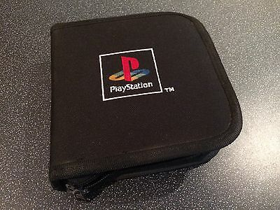 Official Sony PlayStation 1 CD Disc Carry Case (Wallet, Sleeve, PS 1, 2, 3, 4)