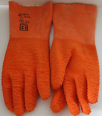 Gloves Commercial Fish Fillet Scaling Cleaning Work H/duty Grip Non Slip