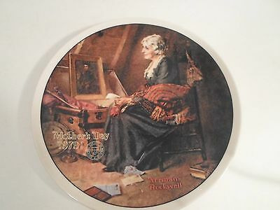 Collector Plate - Norman Rockwell - Mother's Day 1979 - Knowles