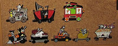 A12 Disney  Lot Pin  Nightmare Before Christmas Set Train Pins