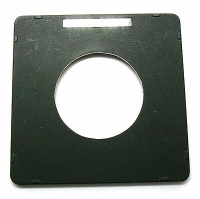Genuine Toyo 158mm x 158mm lens board panel lensboard 80mm hole EXC++ #71405