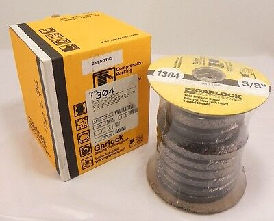 "Garlock Compression Packing 5/8"" Graphite Style 1304"
