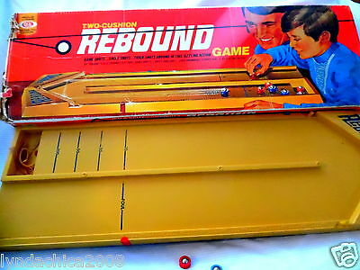 Vintage 1960's Rebound Game By Ideal
