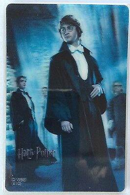 Harry Potter 3D Collectors Cards (COMPLETE SET) - RARE - From Japan