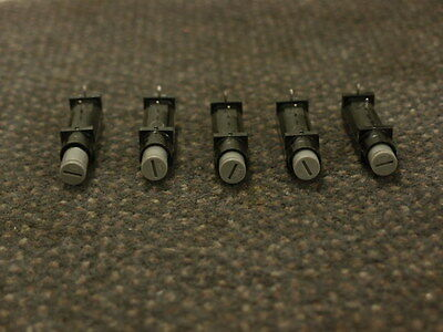 Fuse holder, lot of 5 Bussman PCB mounted shock proof fuse holder