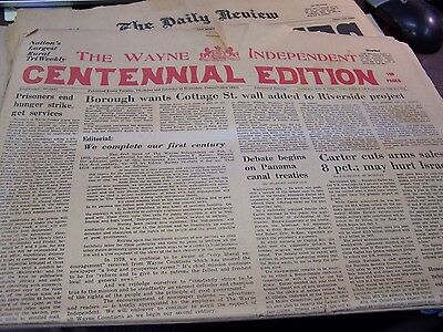 The Wayne Independent - 2/4/78 - Centennial Edition - 156 Pages  - Complete