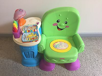 Fisher Price Laugh And Learn Learning Chair