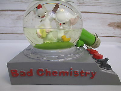 Pinky And The Brain Bad Chemistry Snow globe Animaniacs Warner Bros Studio Store