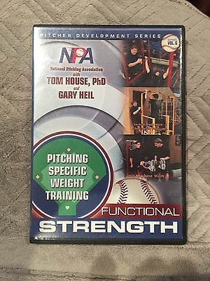 Tom House NPA Baseball Pitching Specific Weight Training DVD
