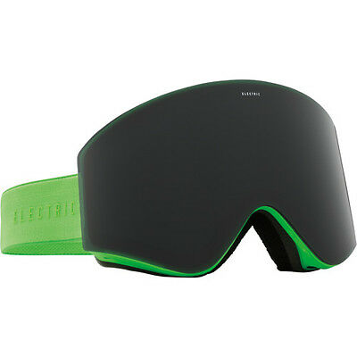 Electric EGX Unisex Snow Goggles  - Solid Slime ~ Jet Black One Size