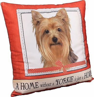 Yorkshire Terrier Yorkie Soft Couch Dog Breed Throw Pillow