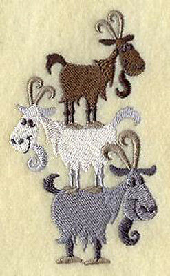 Goat Totem Embroidery Patch
