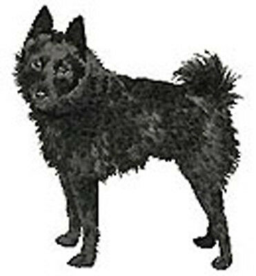 Schipperke (non cropped) Embroidery patch