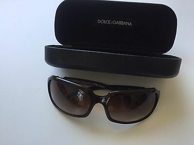 Authentic Burgundy Dolce And Gabbana Sunglasses With Case