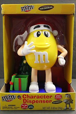 M&M's LIMITED EDITION 2016 YELLOW M&M Character DISPENSER w/ Lights & Music