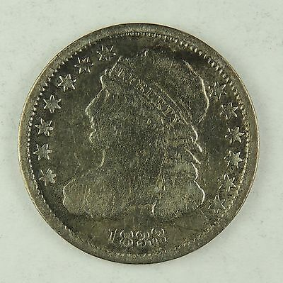 1833-P 10C Capped Bust Silver Dime VG+ Details (Cleaned/Polished)    (170120)