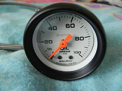 Auto Meter 2-1/16 Phantom Oil Pressure Gauge, 5721