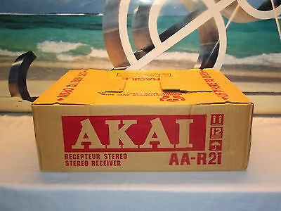 AKAI AA-R21 Vintage Receiver Amplifier NEW in BOX