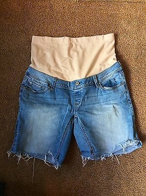 Jeans West maternity shorts, Size 10