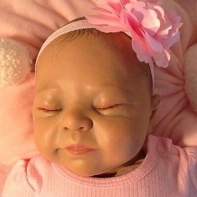 USED REBORN DOLL LILLESOL by SABINE ALTENKIRCH