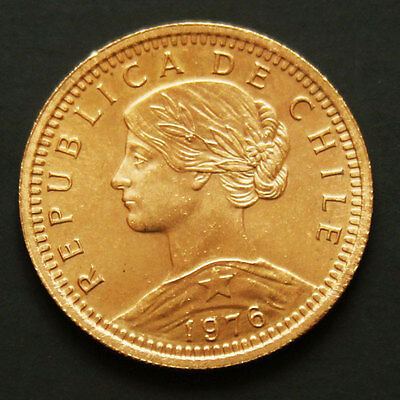 Piece or Chili 20 pesos années variées gold coin Chile random years