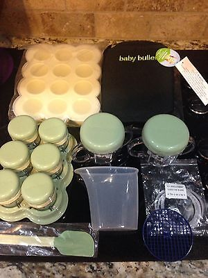 Baby BulletFood Storage Cups Containers Date Dial Lids Tray Replacement Extras