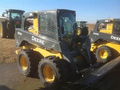 2010 John Deere 332D Skid Steer Loader