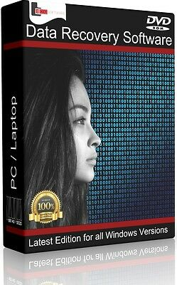 Recovery Software to Undelete Lost Files Data Music Photos Images Recover PC DVD