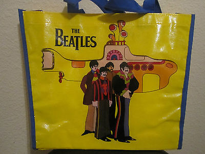 Officially Licensed Beatles Yellow Submarine Large Shopper Tote Bag Great Gift
