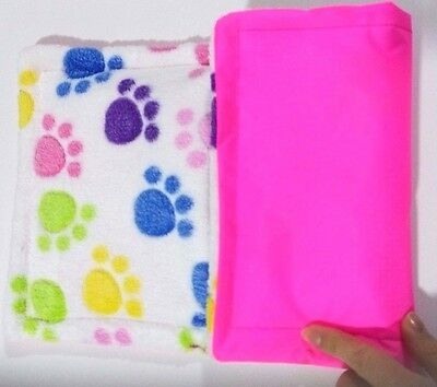 Guinea pig and small animal WATERPROOF pee pad Paws 12x9