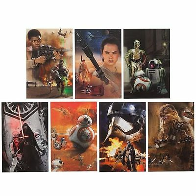 Limited Edition Star Wars The Force Awakens Lithograph Set - Brand New - RRP £25