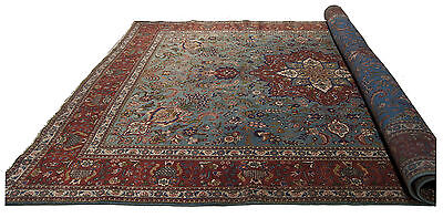 384x294 CM Tappeto Carpet Tapis Teppich Alfombra Rug (Hand Made)