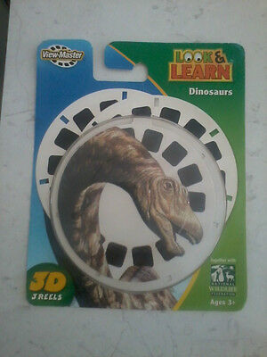 Fisher Price Look & Learn Dinosaurs View Master 3D reels (re: photos)