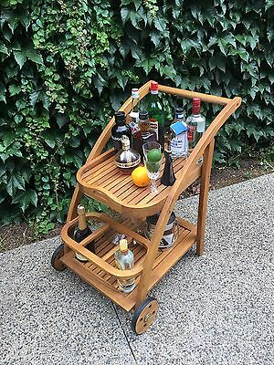 Vintage / retro style drinks trolley,  Perfect for Mad Men Function, Wedding Etc