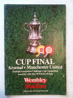 Arsenal V Manchester United 1979 Fa Cup Final Match Day Programme
