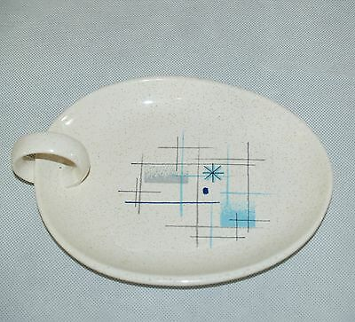 Franciscan Oasis Jam Dish~Mid Century Modern~Atomic~Snack~Jelly~Serving Tray