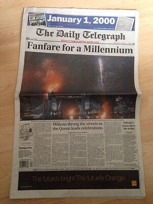The Daily Telegraph newspaper - 1st January 2000 Millennium Edition