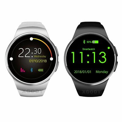 Waterproof KW18 Smart Watch Phone Mate Bluetooth Heart Rate For Android Samsung