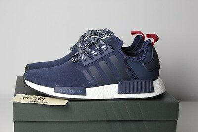 ADIDAS NMD R1 Blue Navy Pink W S76011 PK White Red XR1 WMNS OG Tri PK 7 8 9 6 5
