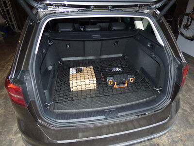 Cargo Net Volkswagen Passat B8 Estate Variant Vw Car Boot Luggage Trunk Floor