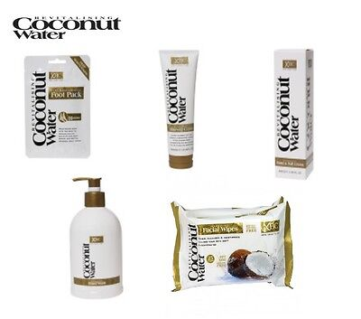 Coconut Water Body Bath Set - Wash, Shower Creme, Hand & Nail Cream, Foot Packs