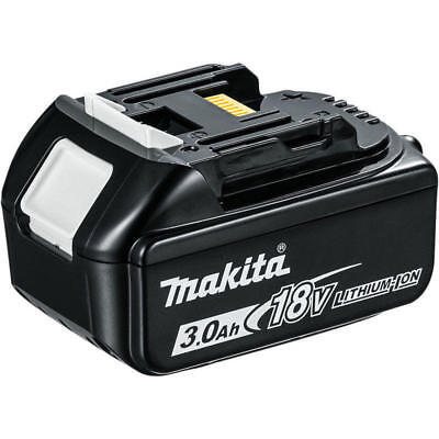 MAKITA batteria litio 18V 3.0Ah BL1830B ORIGINALE CON LED  trapani avvitatore