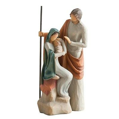 26290 The Holy Family - Willow Tree Figurine, New and Boxed Collectible Ornament